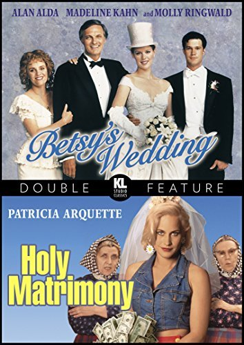 Betsy's Wedding Holy Matrimony Double Feature DVD R