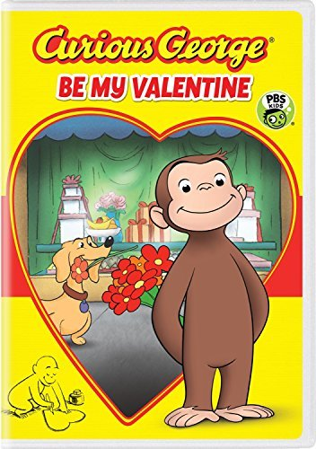 Curious George Be My Valentine DVD
