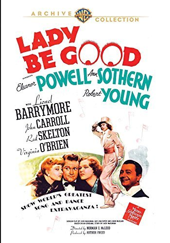 Lady Be Good Barrymore Carroll Skelton DVD Mod This Item Is Made On Demand Could Take 2 3 Weeks For Delivery