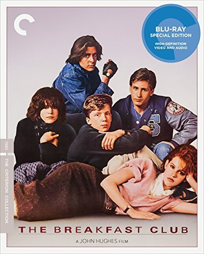 Breakfast Club Ringwald Estevez Hall Nelson Blu Ray Criterion