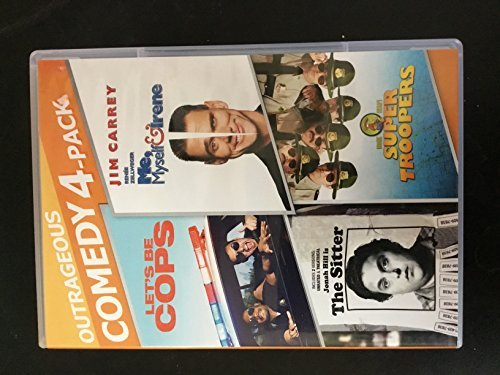 lets-be-cops-me-myself-irene-sitter-super-troopers-outrageous-comedy-4-pack
