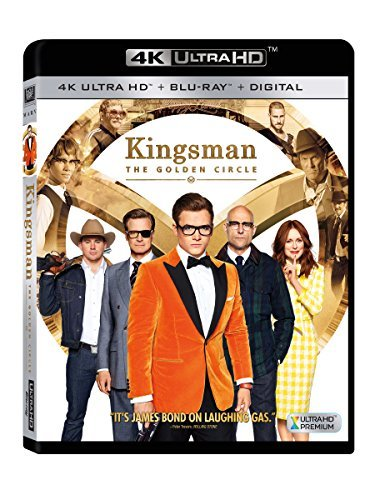 Kingsman Golden Circle Egerton Firth Moore 4khd R