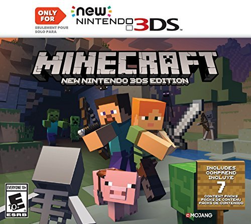 Nintendo 3ds Minecraft New Nintendo 3ds Edition ***only Works On The New 3ds***