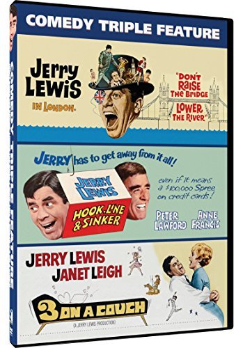 Jerry Lewis Triple Feature DVD G