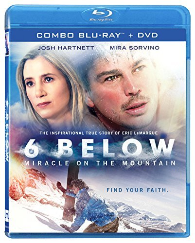 6 Below Miracle On The Mountain Hartnett Sorvino Blu Ray DVD Pg13