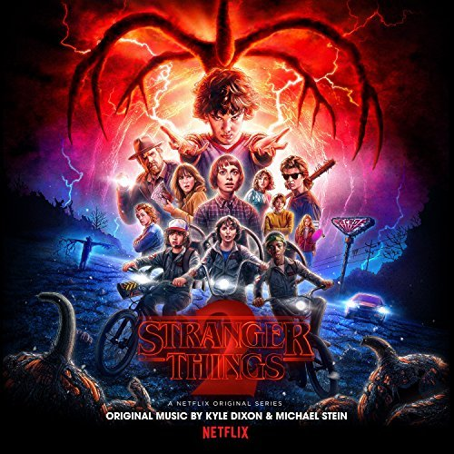 Stranger Things 2 Score Blue W Black Smoke Vinyl