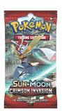 Pokemon Cards Sun & Moon Crimson Invasion Booster Pack