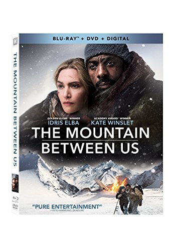 Mountain Between Us Elba Winslet Blu Ray DVD Dc Pg13
