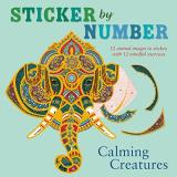 Shane Madden Sticker By Number Calming Creatures 12 Animal Images To Sticker W