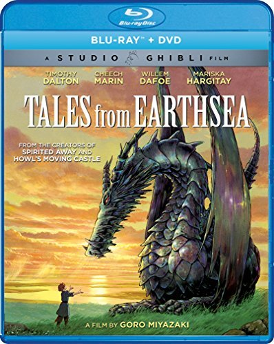 Tales From Earthsea Studio Ghibli Blu Ray Pg13