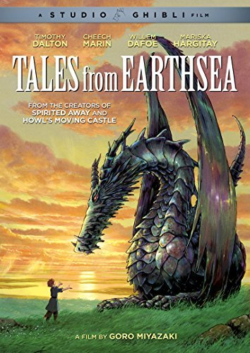 Tales From Earthsea Studio Ghibli DVD Pg13