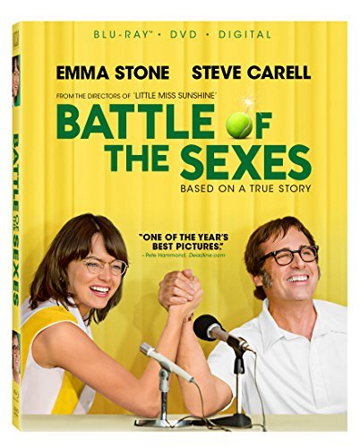 Battle Of The Sexes Stone Carell Blu Ray DVD Dc Pg13