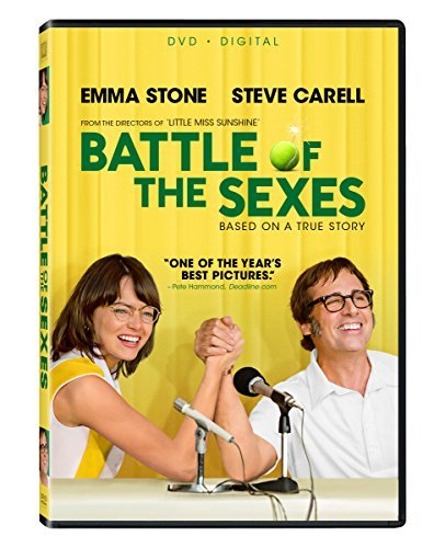 Battle Of The Sexes Stone Carell DVD Dc Pg13