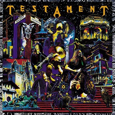 Testament Live At The Fillmore (blue Vinyl) 2 Lp 140g Ltd To 1000 Copies