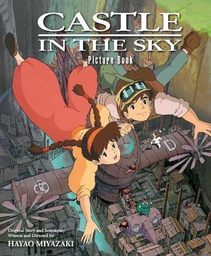Hayao Miyazaki Castle In The Sky Picture Book
