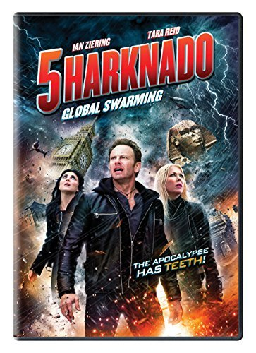 Sharknado 5 Global Swarming Reid Lundgren Scerbo DVD Tv14