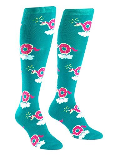 Socks Knee High Donuticorn (avail 1 15 2017)