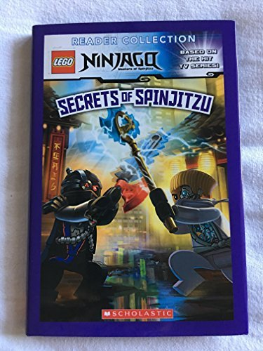 Scholastic Inc. Ninjago Secrets Of Spinjitzu