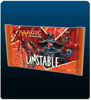 Magic The Gathering Cards Unstable Booster Pack