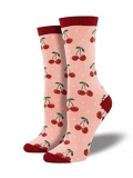 Socks Womens Crew Cherry Bsh