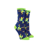 Socks Womens Crew Tree Frogs Nav