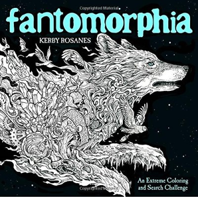 Kerby Rosanes Fantomorphia An Extreme Coloring And Search Challenge