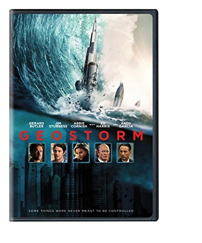 Geostorm Butler Sturgess Cornish DVD Pg13