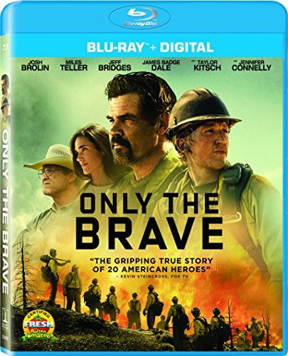 Only The Brave Brolin Teller Bridges Connelly Blu Ray Dc Pg13