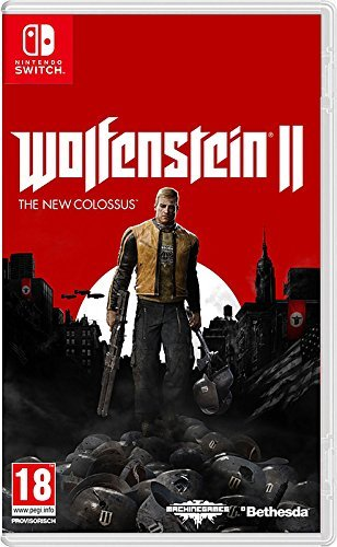 Nintendo Switch Wolfenstein Ii The New Colossus