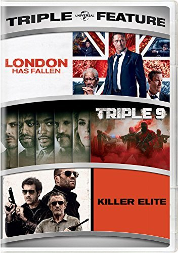 London Has Fallen Triple 9 Killer Elite Triple Feature DVD R