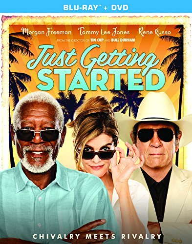 Just Getting Started Freeman Jones Russo Blu Ray DVD Pg13