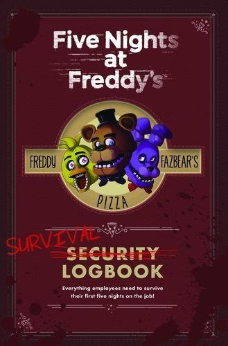 Scott Cawthon Five Nights At Freddy's Survival Logbook