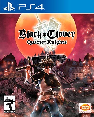 Ps4 Black Clover Quartet Knights