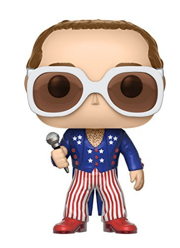 Funko Pop! Rocks Elton John Red White Blue