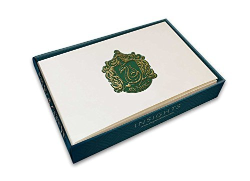 Notecard Set Harry Potter Slytherin Crest 10 Cards And 10 Envelopes
