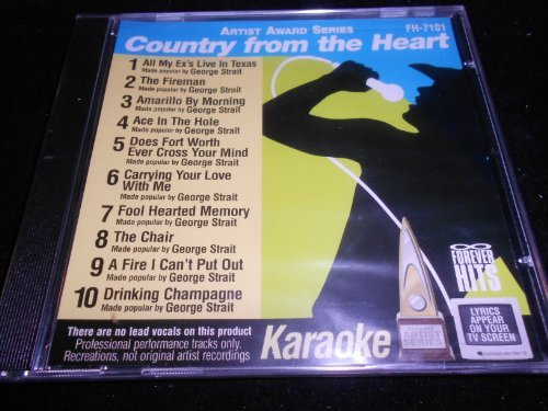 Karaoke Country From The Heart Karaoke Country From The Heart