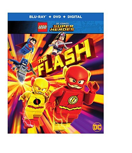 Lego Dc Super Heroes The Flash Blu Ray DVD Dc Nr