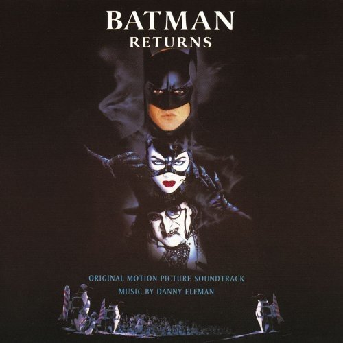 Batman Returns Score Danny Elfman 2lp