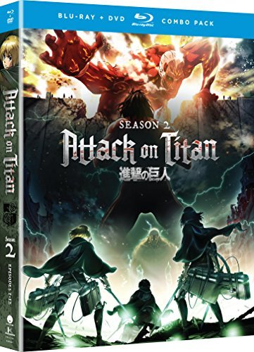 Attack On Titan Season 2 Blu Ray DVD Nr