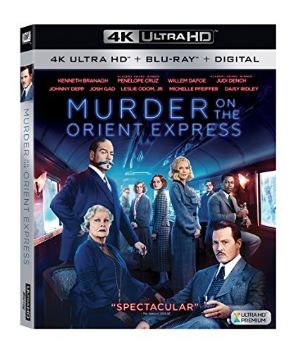 Murder On The Orient Express (2017) Depp Branagh Cruz Dench Dafoe Gad Ridley Pfeiffer 4khd Pg13