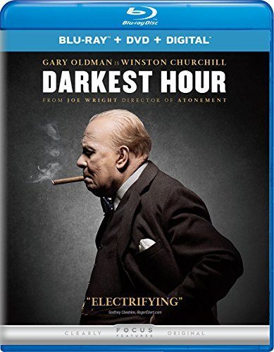 Darkest Hour Oldman Thomas James Mendelsohn Blu Ray DVD Dc Pg13