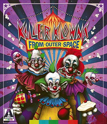 Killer Klowns From Outer Space Cramer Snyder Nelson Vernon Blu Ray Pg13