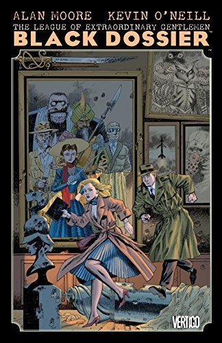 Alan Moore League Of Extraordinary Gentlemen The Black Dossier