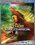 Thor Ragnarok Hemsworth Hiddleston Blanchett Blu Ray DVD Dc Pg13
