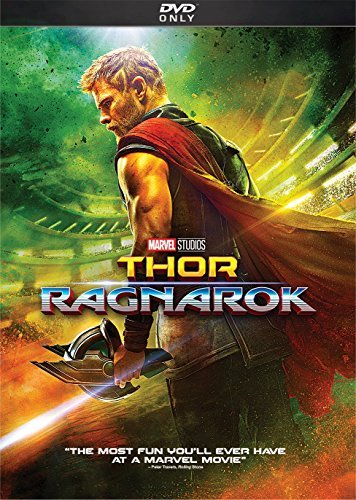 Thor Ragnarok Hemsworth Hiddleston Blanchett DVD Pg13