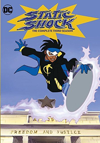 Static Shock Season 3 DVD Mod This Item Is Made On Demand Could Take 2 3 Weeks For Delivery