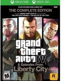 Xbox 360 Grand Theft Auto Iv Complete (compatible W. Xbox One)