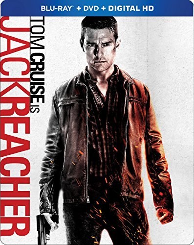 Jack Reacher Cruise Pike Duvall Blu Ray DVD Dc Pg13 Steelbook