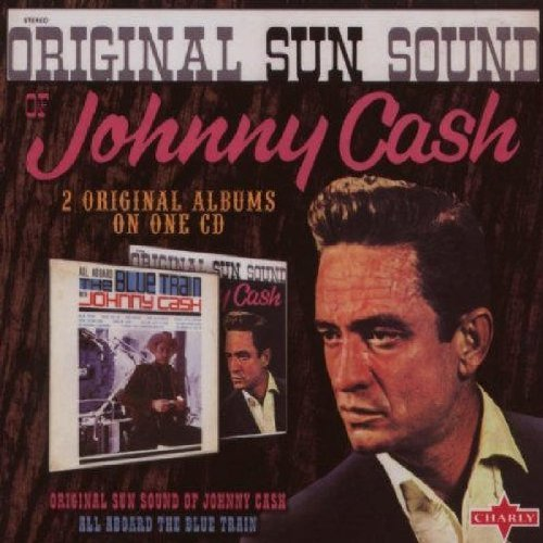 Johnny Cash All Aboard The Blue Train Orig Import Gbr