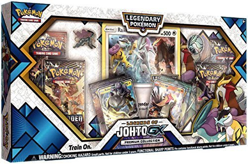 Pokemon Cards Legends Of Johto Gx Premium Collection